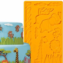 Animal Zoo Fondant Mold