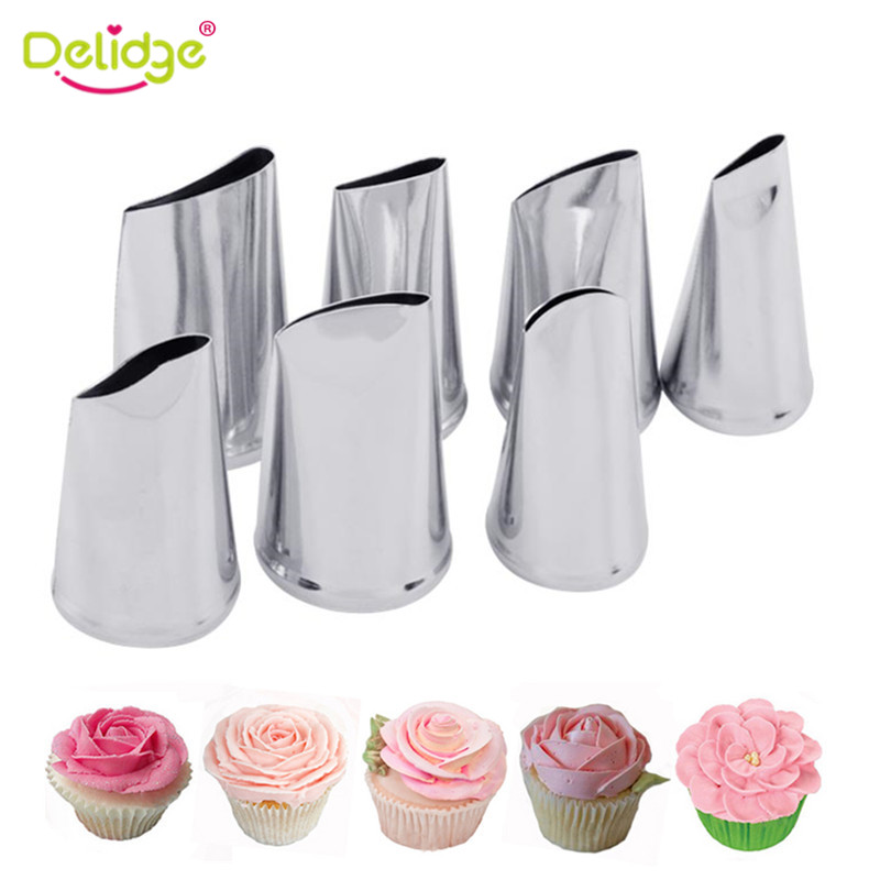 7pcs Cake Decorating Tips Set