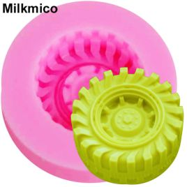 Tire Shape Fondant Mold