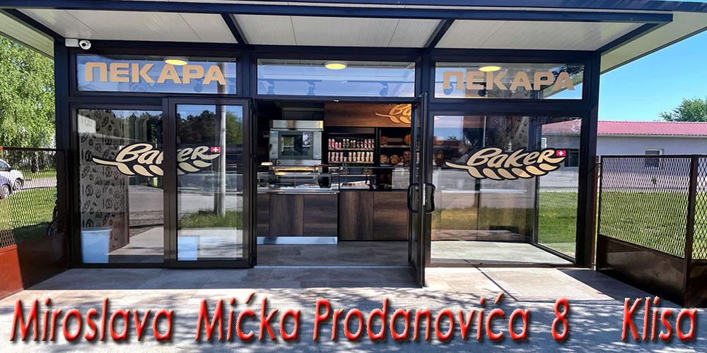 Još jedna prodavnica Vaše pekare otvorena je na Klisi