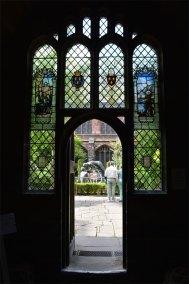 Entrance to the cloister gardens