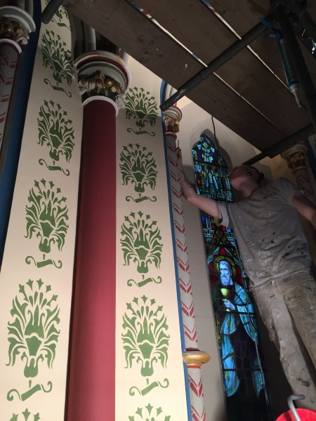 historic heritage church repairs and redecoration specialists hampshire Baker Southern Ltd