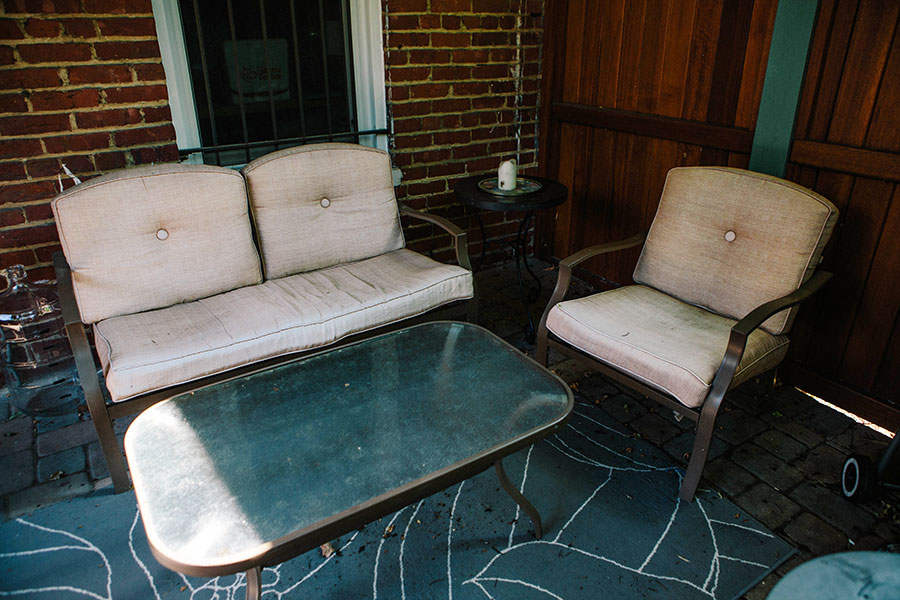 Patio-Makeover-Fabric-Spray-Paint-2 Patio Makeover with Fabric Spray Paint Home & Design Our Life
