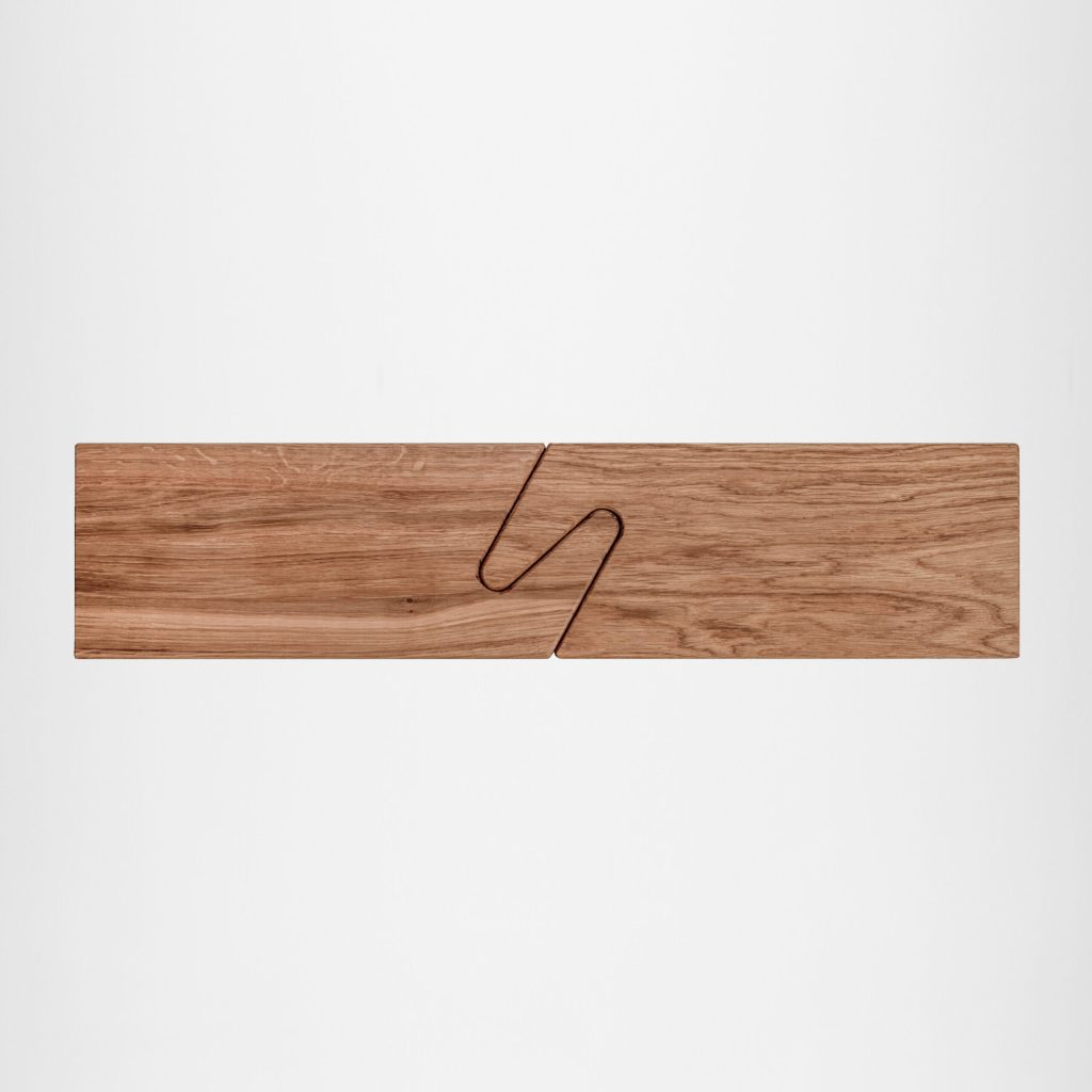 THE CONNECT Serving Boards – Oak & Oak