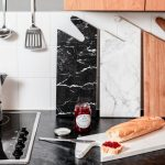 THE CONNECT Serving Boards – Black & White Marble