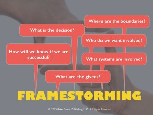 Framestorming comes before.001