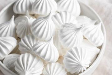 French meringue cookies