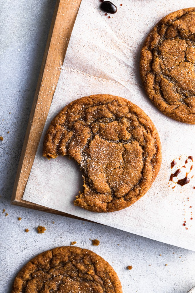 chewy pumpkin spice cookies with bite take out