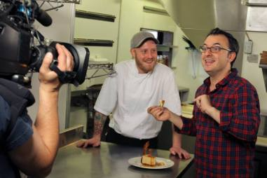 YGEH Baker Street Station John Catucci, Brett MacDonald and Peanut Butter & Bacon Cheesecake