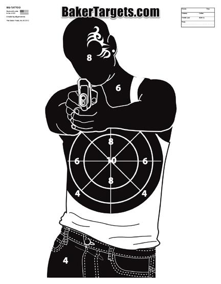 face tattoo guy target