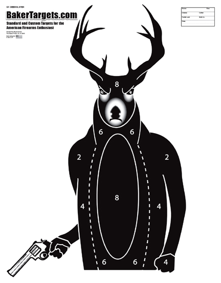 deerslayer target