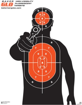 fluorescent shooting targets