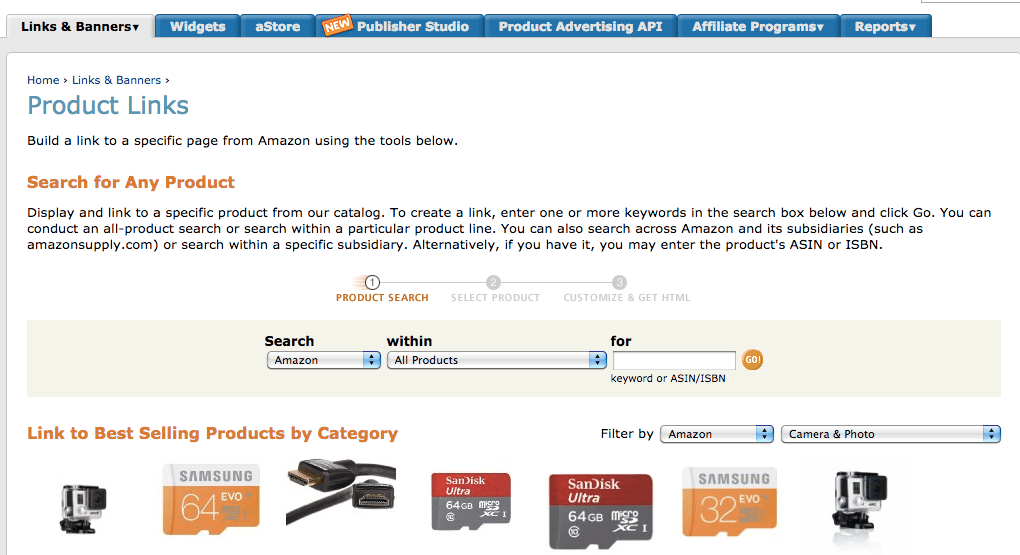 How to add an Amazon Affiliate link to a graphic in your blog