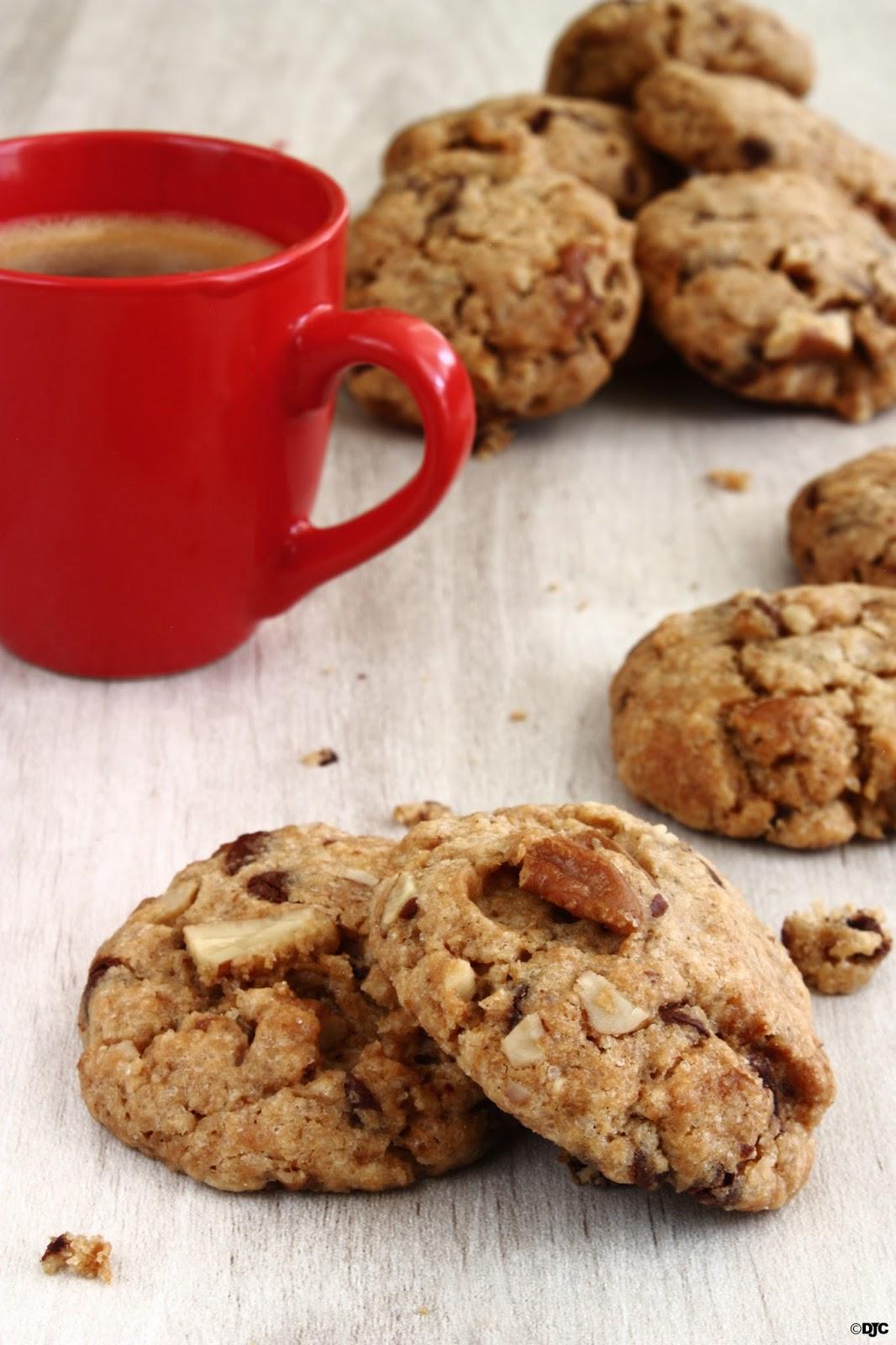 עוגיות שוקולד צ'יפס פקאן