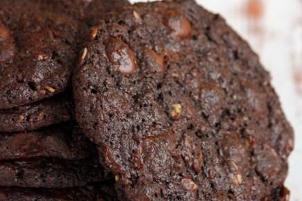 עוגיות שחיתות שוקולד-שיבולת שועל ללא גלוטן