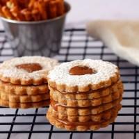 עוגיות בייגלה וקרמל מלוח