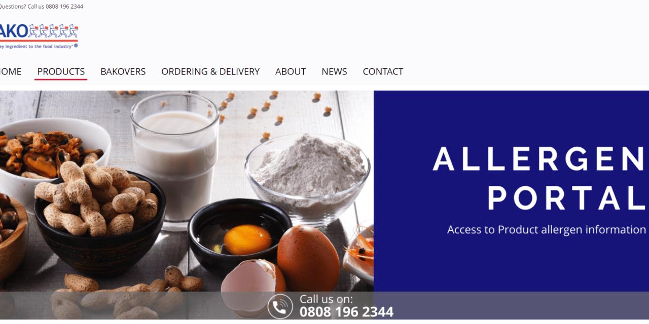 BAKO launches allergen portal