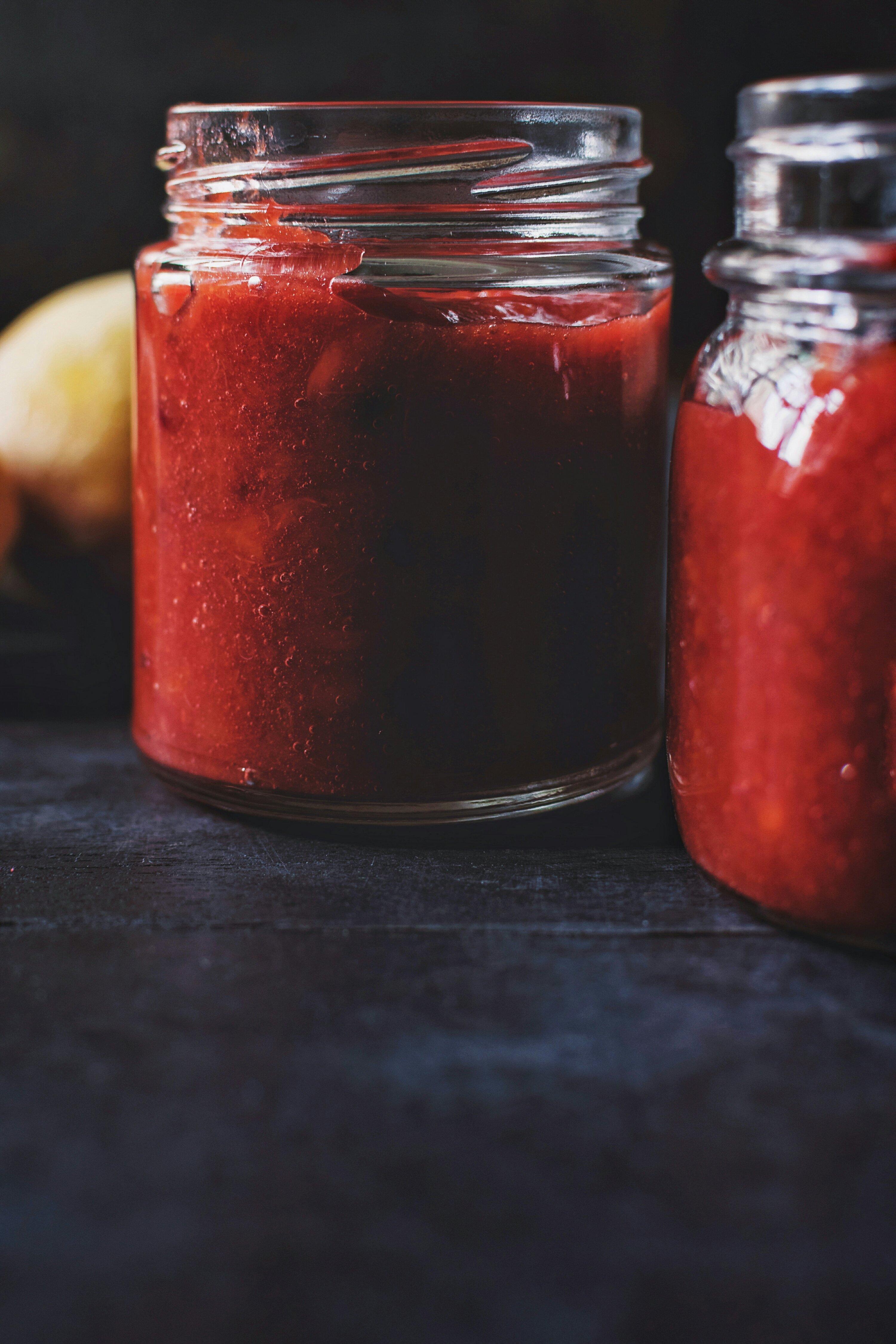 Peach – Plum Jam (low sugar)