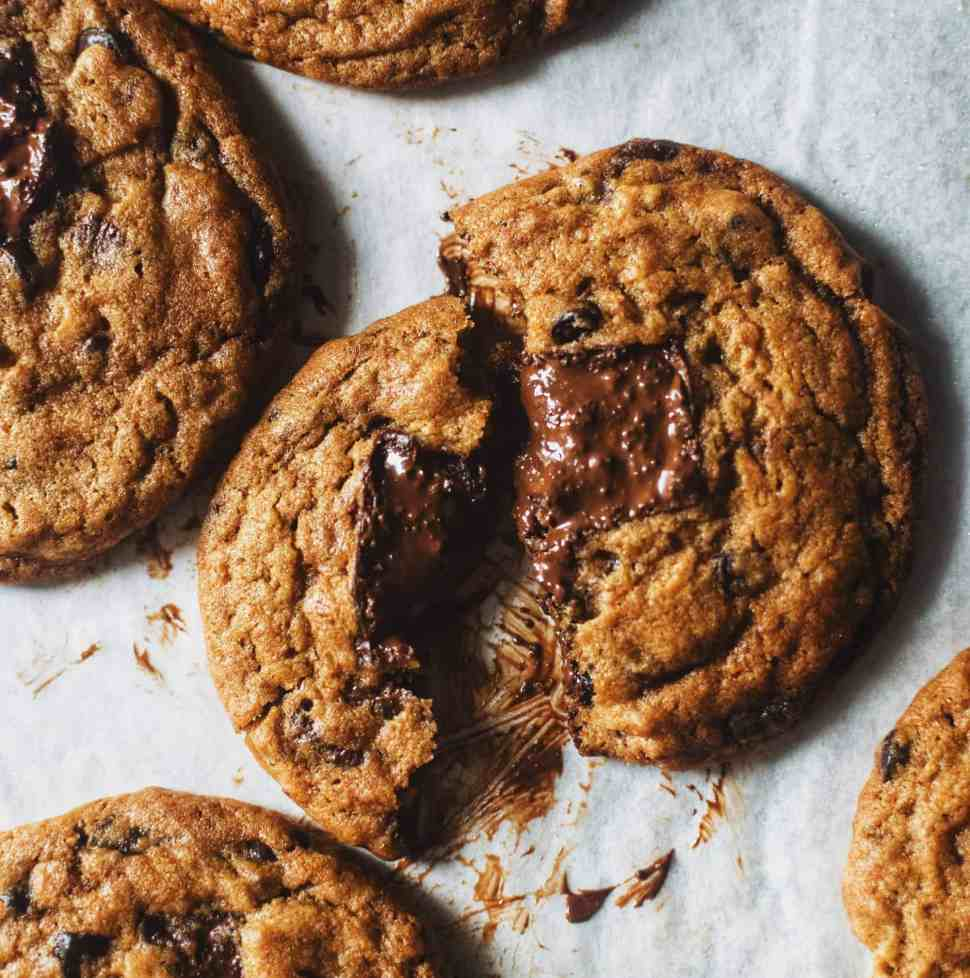 Coconut-sugar Chocolate Chip Cookies.
