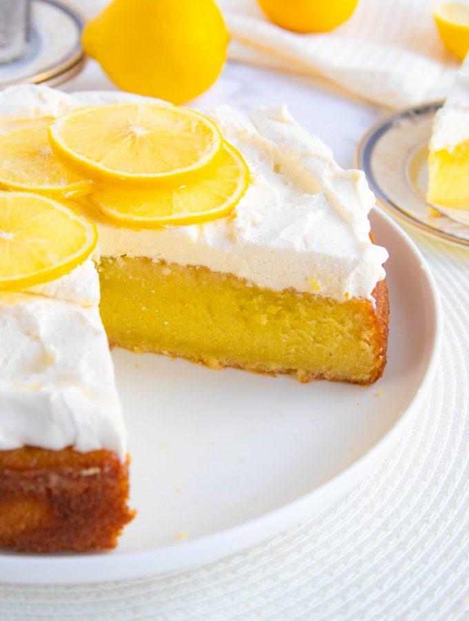 Bergamot Orange Olive Oil Cake