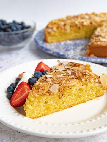 Spanish Almond Cake