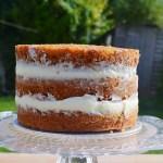 Naked Tropical Carrot Cake