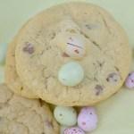 Mini Easter Eggs Chocolate Chip Cookies