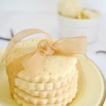 Shortbread Biscuit Ice Cream Sandwiches