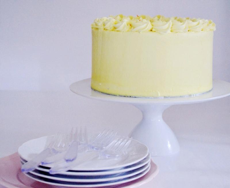 Vanilla Confetti Cake