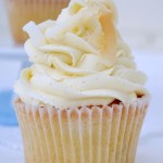 Vanilla Bean Coconut Cupcakes with Vanilla Bean Buttercream