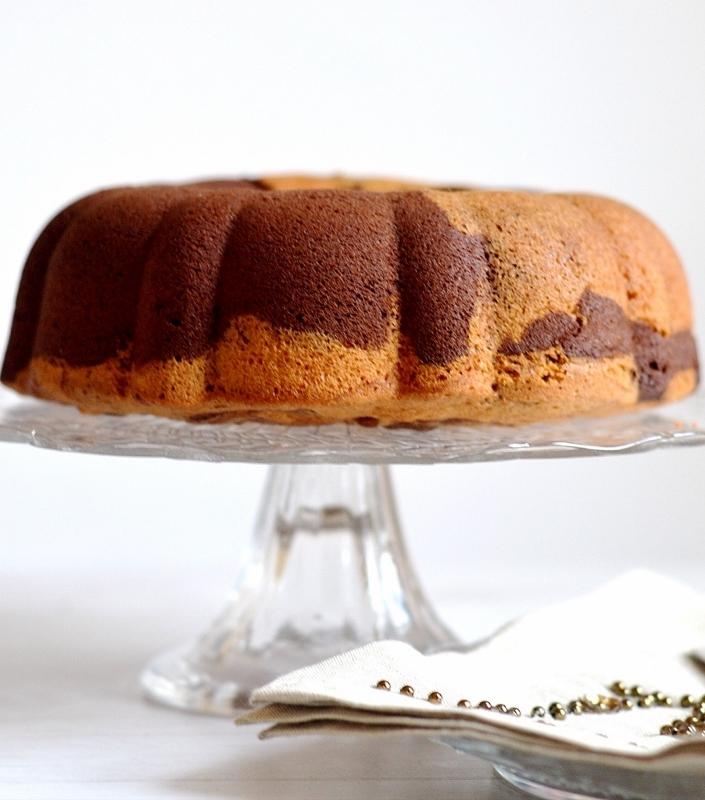 Vanilla marble cake recipe