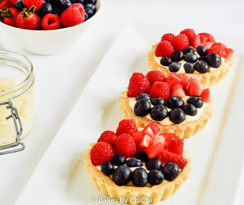Mixed Berry Fruit Tartlets
