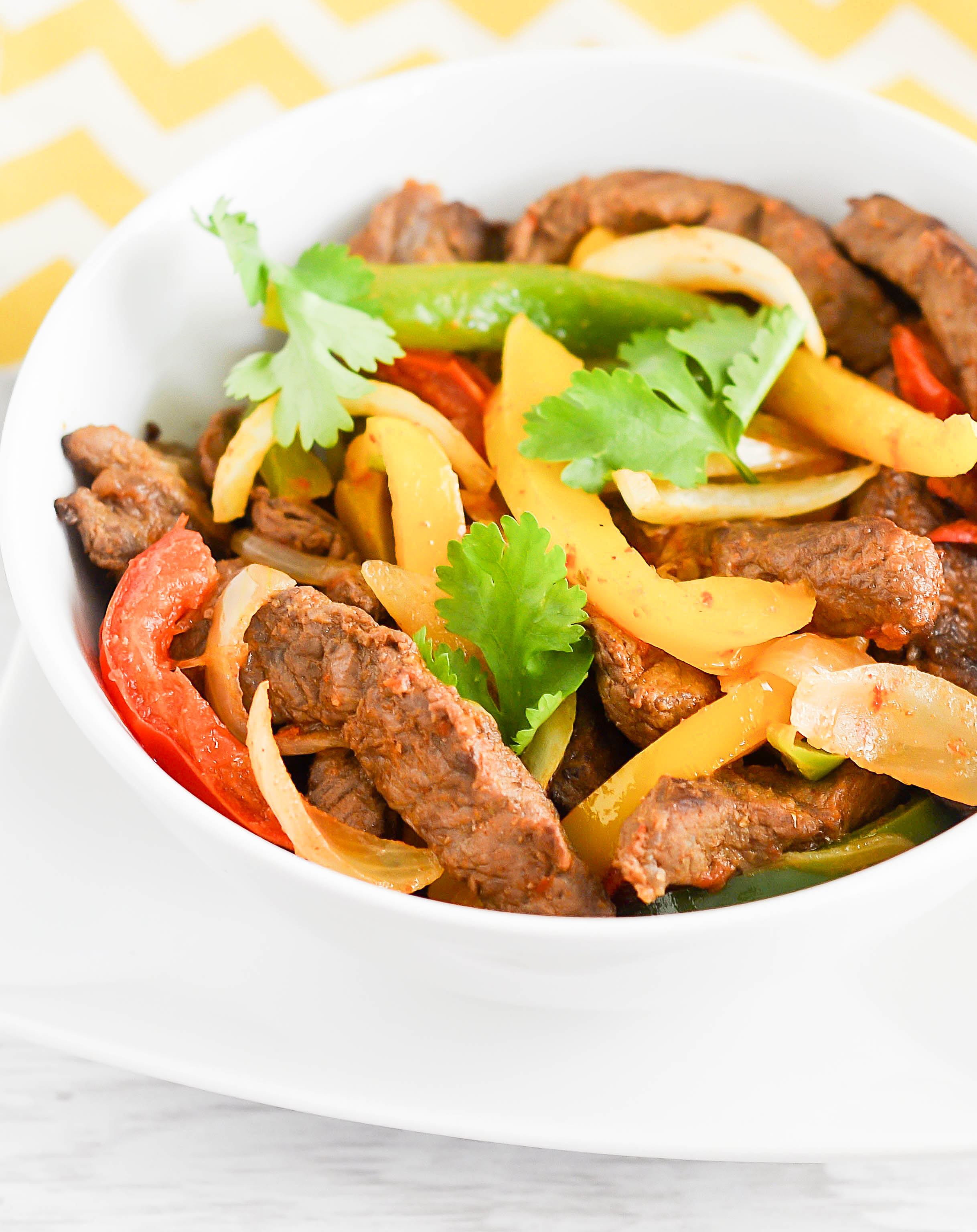 Stir-Fry Steak with Peppers