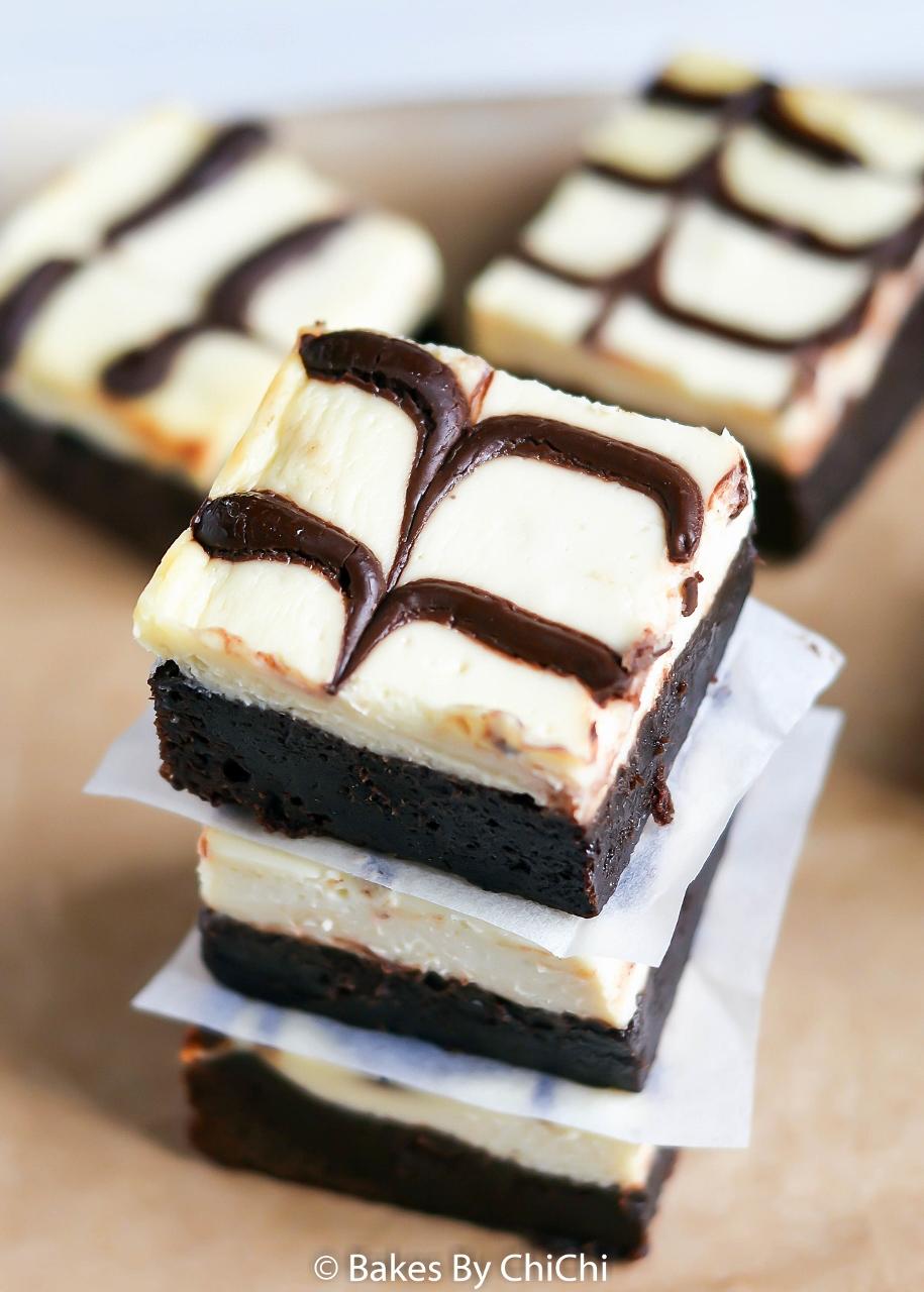 Marbled Cheesecake Brownie