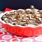 Peanut Butter Chocolate Pudding Pie