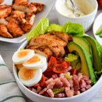 Spiced Chicken Club Salad