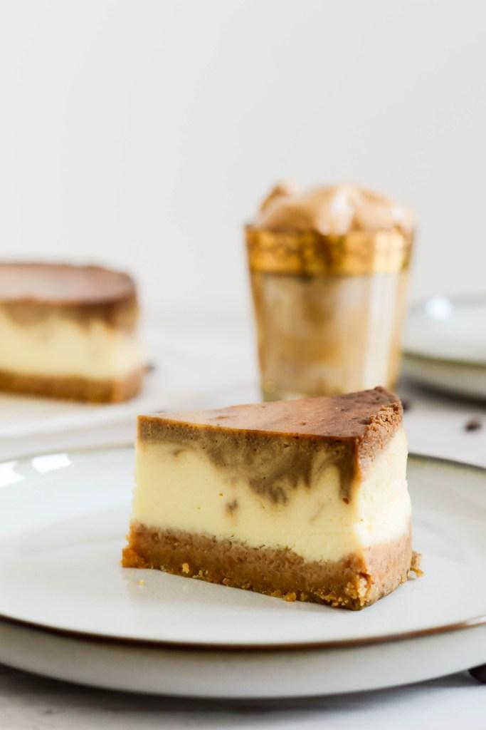 Espresso Swirl Cheesecake