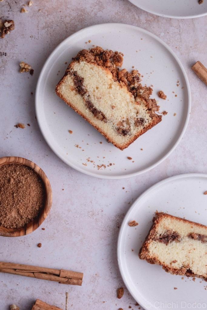 Cinnamon Coffee Loaf