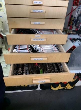 Engine room Storage