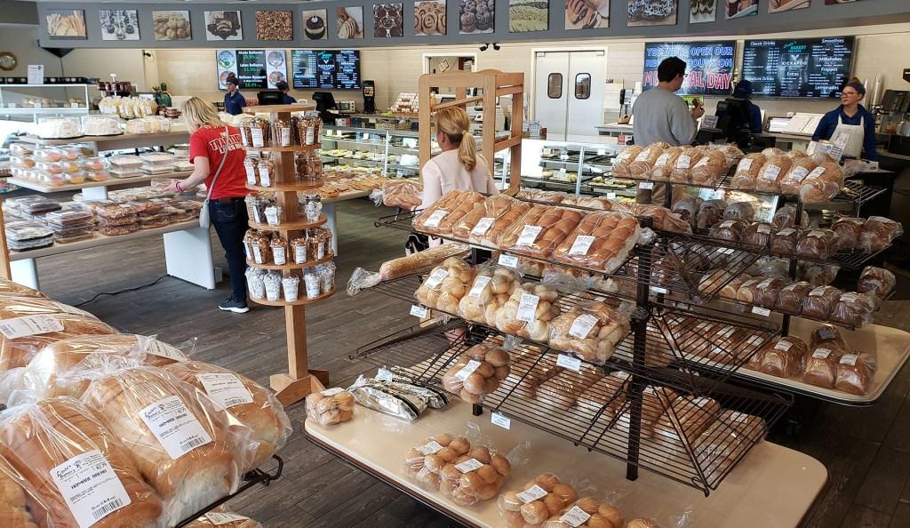 Baked goods at Linda's bakery