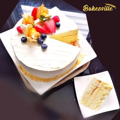 Musang King Durian Cake in Ipoh
