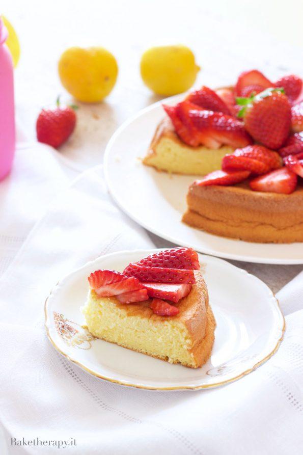 Torta morbida al limone