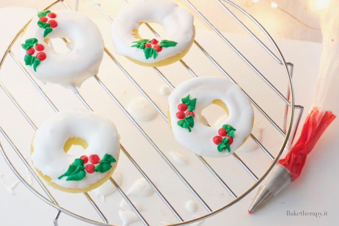 Ciambelline glassate per Natale