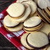 Fudge Sponge Drop Cookies for the Holiday Cookie Exchange Party
