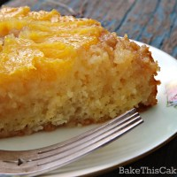 A Charming Honey Orange Upside-Down Cake to Share with Family