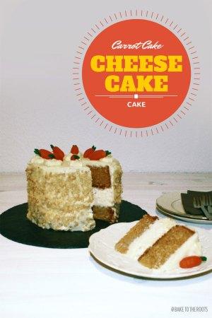 Carrotcake Cheesecake Cake