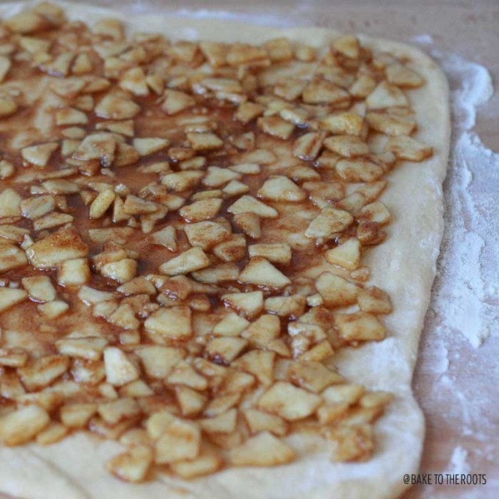 Apple Cinnamon Pull-Apart Bread   Bake to the roots