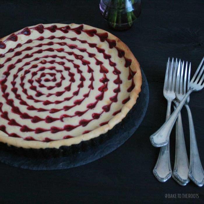 White Chocolate Raspberry Cheesecake   Bake to the roots