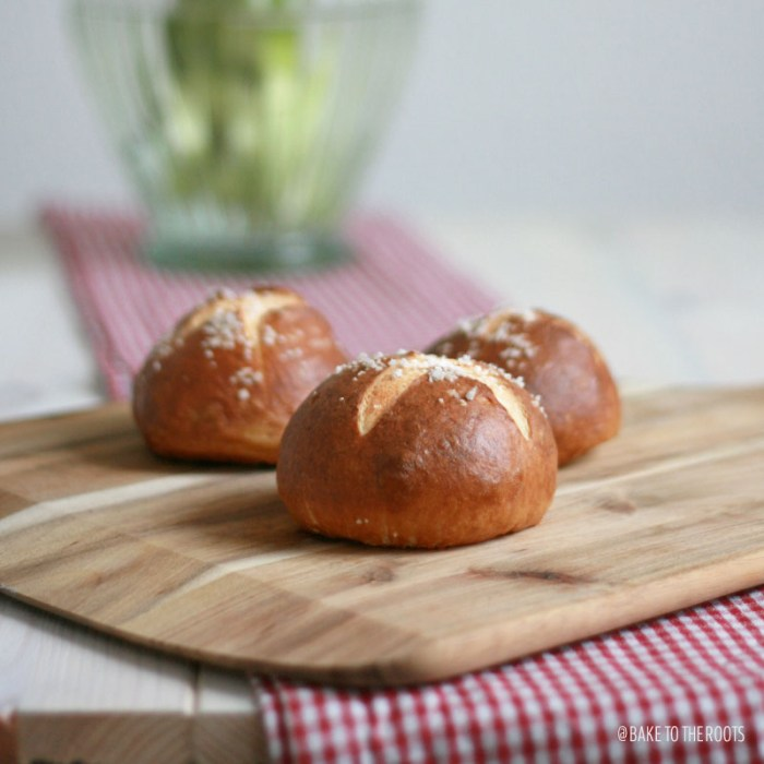 Soft Pretzel Rolls | Bake to the roots