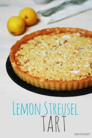 Zitronen Streusel Tarte